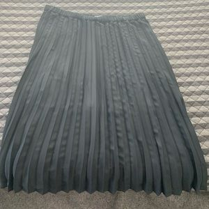 Pleated Black 1X skirt (NBW)